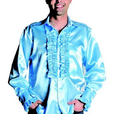 chemise-disco-bleu