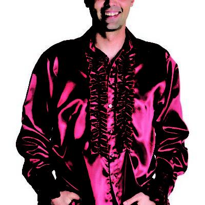 chemise-disco-bordeaux