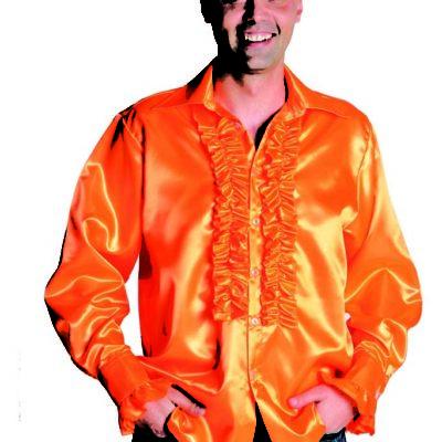 chemise-disco-orange