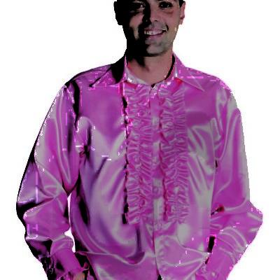 chemise-disco-rose