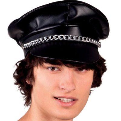 casquette-simili-noire