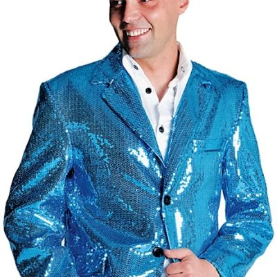 Veste-paillettes-bleue