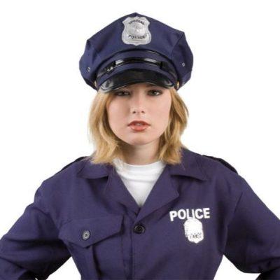 casquette-policier-bleue