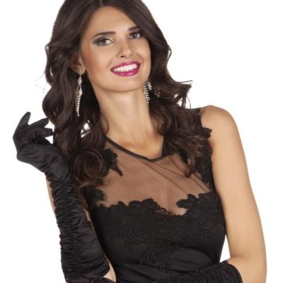 gants-satin-plisses-noir