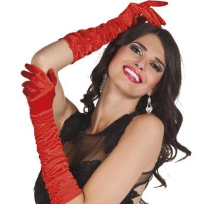gants-satin-plisses-rouge