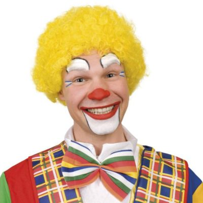 perruque-clown-jaune
