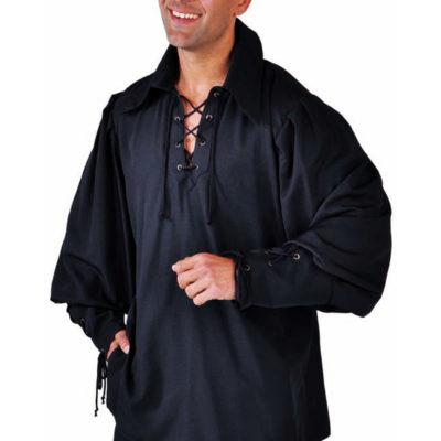 chemise-pirate-noire