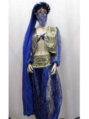 danseuse-orientale-bleue
