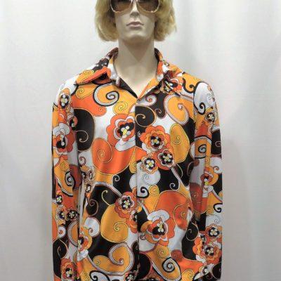 chemise-hippie-orange