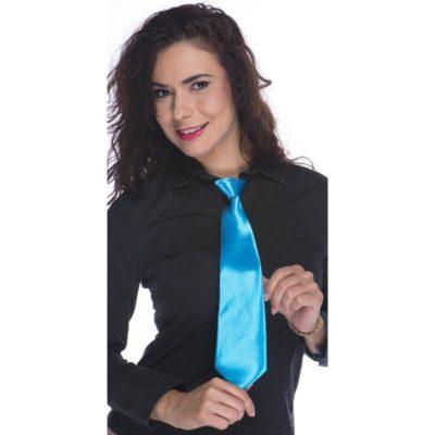 cravate-fluo-bleue