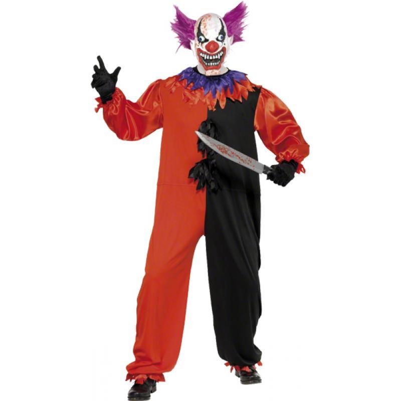 Déguisement de clown méchant