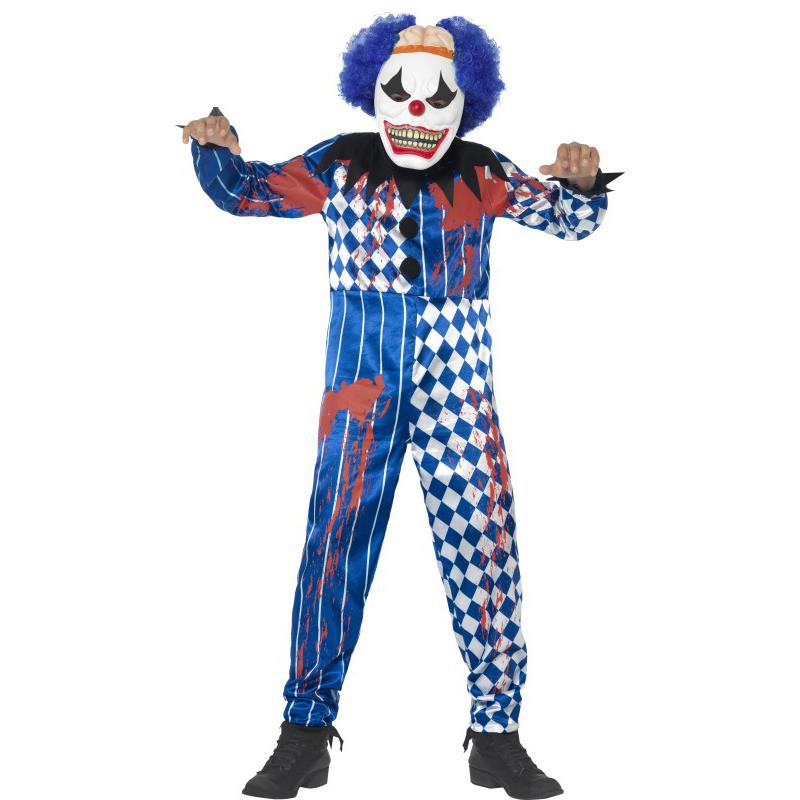 Déguisement de clown méchant enfant