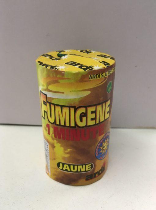 fumigène jaune