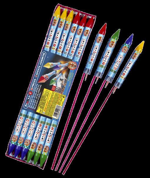 Fusées Zinnia