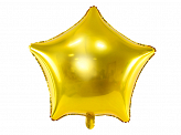 ballon étoile or