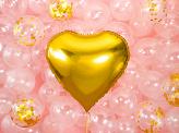 ballon coeur or