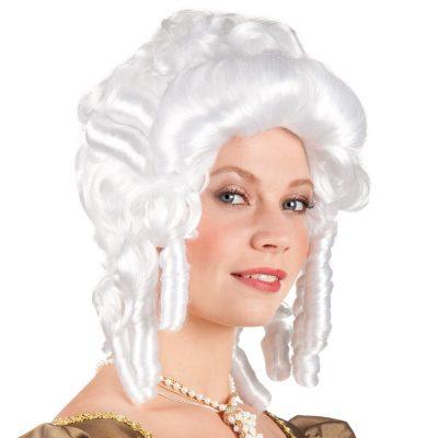 perruque baroque dame