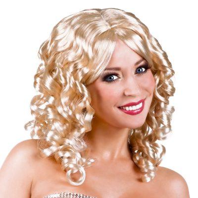perruque coktail blond