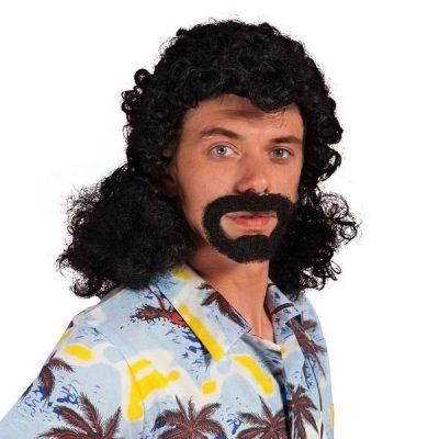 perruque et barbe jacky
