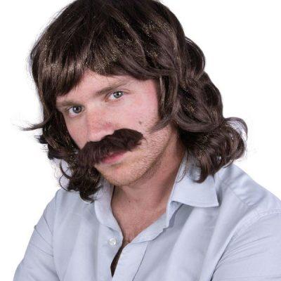 perruque et moustache francis