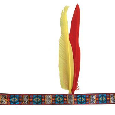bandeau deux plumes d'indien
